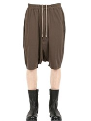 Rick Owens Drkshdw Light Cotton Jersey Shorts