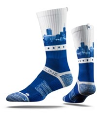 Strideline Indianapolis City Socks Blue White