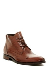 Bacco Bucci Military Cap Toe Chukka Boot Brown