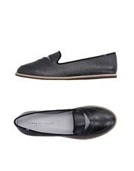 Charles Philip Footwear Moccasins Women Steel Grey