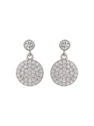 Mikey Sterling Silver 925 Drop Disc Earring N A N A
