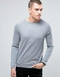 Selected Homme Crew Neck Jumper Tradewinds Blue
