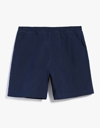 Camo Alexander Elastic Short Canvas Navy