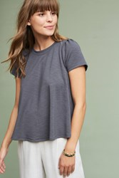 Anthropologie Westward Top Dark Grey