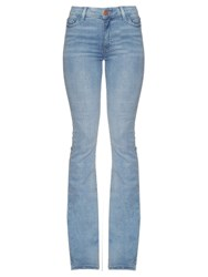 M.I.H Jeans Marrakesh High Rise Kick Flare Jeans Light Blue