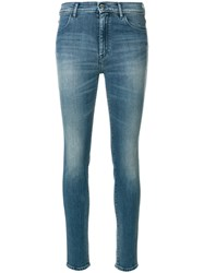 The Seafarer Skinny Jeans Cotton Polyester Spandex Elastane Tactel Blue