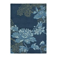 Wedgwood Fabled Floral Rug Navy Blue