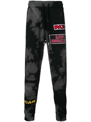 Love Moschino Patch Relaxed Trousers Black