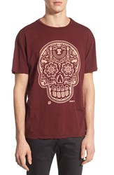 Men's Obey 'Power And Glory Skull' Graphic T Shirt