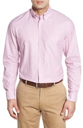 Men's Bobby Jones Classic Fit Long Sleeve Stripe Sport Shirt Lilac