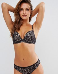 Ultimo Delphinus Omg Plunge Bra Black And Gold