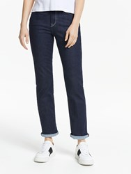 Lee Marion High Rise Straight Leg Jeans Rinse