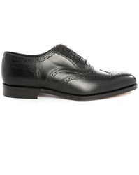 Loake Buckingham Black Leather Brogues