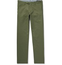 Polo Ralph Lauren Slim Fit Stretch Cotton Twill Chinos Army Green