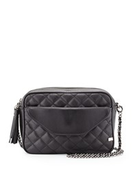 King Quilted Crossbody Bag Black Sjp By Sarah Jessica Parker