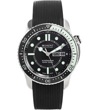 Bremont S500 Supermarine Stainless Steel And Rubber Diving Watch