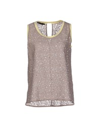Nuvola Topwear Vests Women Grey