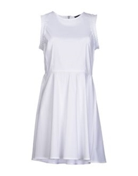 Mauro Gasperi Short Dresses White