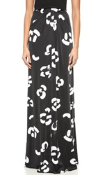 Issa Karen Maxi Skirt Black