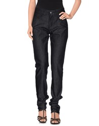 Emporio Armani Denim Denim Trousers Women Black