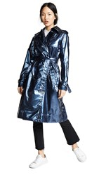 Marc Jacobs Trench Coat Blue