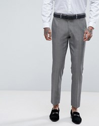 Rudie Super Skinny Grey Check Suit Trousers Grey