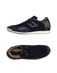 Cesare Paciotti 4Us Footwear Low Tops And Trainers Women Dark Blue