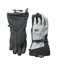 The North Face Revelstoke Etip Glove High Rise Grey Asphalt Grey Extreme Cold Weather Gloves Black