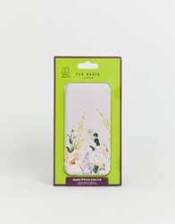 Ted Baker Cabe Floral Iphone Case Pink