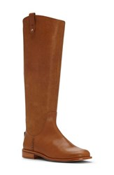 Ed Ellen Degeneres Women's 'Zoila' Riding Boot Dark Camel Leather