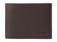 Jack Spade Barrow Leather Slim Billfold Mahogany Bill Fold Wallet