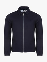 Eden Park Collared Cotton Jacket Navy