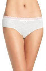 Betsey Johnson Women's Stretch Cotton Hipster Panty