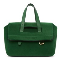 J.W.Anderson Jw Anderson Green Suede Tool Bag