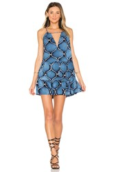 Indah Joy Mini Dress Blue