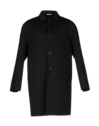 Aganovich Overcoats Black
