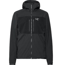 Arc'teryx Proton Fl Slim Fit Fortius Air 20 Hooded Jacket Black