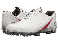Footjoy Dna 2.0 White Red Men's Golf Shoes