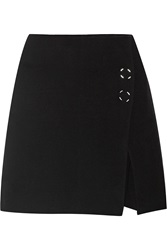 Acne Studios Paynton Boiled Wool Blend Mini Skirt