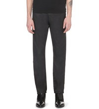 The Kooples Coated Straight Cut Mid Rise Jeans Black