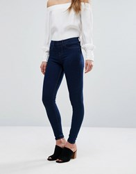 New Look High Waisted Jegging Blue