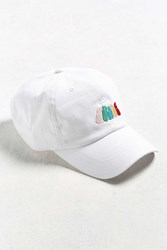 Urban Outfitters Uo Community Cares Glsen Pride Embroidered Hat White
