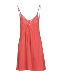 Denim And Supply Ralph Lauren Short Dresses Coral