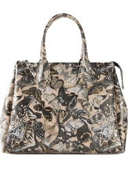 Gum Butterfly Print Tote