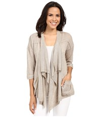 Mavi Jeans Open Front Cardigan Ice Grey Women's Sweater Multi