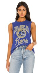 Junk Food Nfl Rams Tank In Royal. Liberty