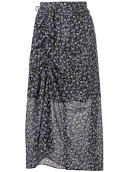 Robert Rodriguez Studio Lily Ruched Skirt Black