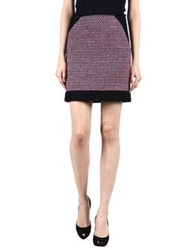 Tomaso Knee Length Skirts Purple