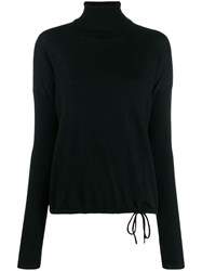 Odeeh Roll Neck Sweater Black