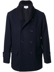 Tomorrowland Double Breasted Coat Blue